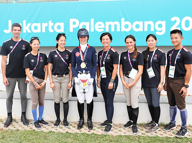Asian Games Equestrian Updates