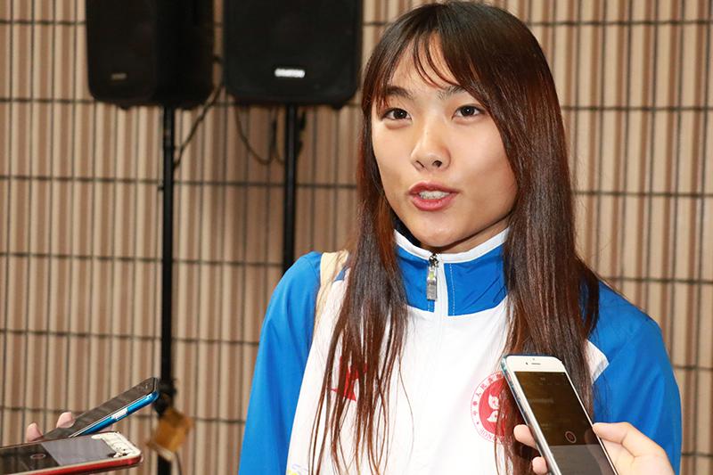 楊文蔚表示期待入住選手村。