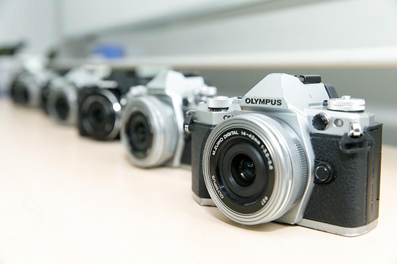 新合作夥伴Olympus為今屆計劃提供課程及器材支援。