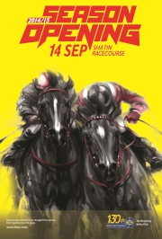 Fans coming to Sha Tin Racecourse for the season opener (Photo 1) on Sunday 14 September will be greeted with a free 2014/15 Racing Calendar along with an Instant Win Card#.