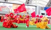 開幕典禮於馬匹亮相圈舉行,香港特區政務司司長林鄭月娥將主持醒獅點睛及敲鑼儀式,一眾騎師亦會現身與馬迷見面,祝願新馬季事事順利。配合130週年誌慶,大會將派出130頭醒獅演出助興,為歷年最多,令興奮時刻更上層樓。