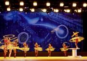 登上健力士世界紀錄的深圳市福永雜技藝術團將表演《和諧之光  -  晃圈》,配合動感的現代音樂,演員將以一分鐘之內接住並旋轉236個光圈的世界紀錄表演項目