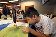 3Doodler立體繪畫創作室讓小朋友發揮創意,輕鬆創作立體作品。