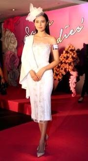 國際知名女演員高圓圓擔任今年莎莎婦女銀袋日形象大使。