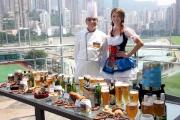 觀眾同場亦可品嚐十一款世界知名的啤酒。
