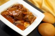 法式紅酒燴牛肉配麵包(HK$80)