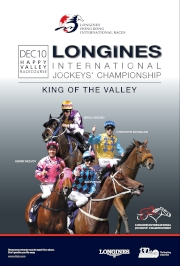 To help build excitement for the big day, the LONGINES International Jockeys' Championship (LIJC) will be held on Wednesday 10 December, featuring some of the world��s best jockeys.