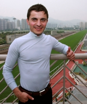 Andrea Atzeni is hoping for success during his riding stint in Hong Kong.