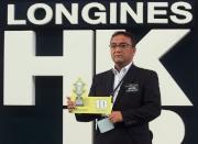 浪琴表香港短途錦標 – 「瑞草祥龍」的練馬師高木登為該匹日本賽駒抽得第10檔。