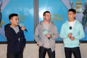 騎師郭能、何澤堯及楊明綸大談對新一年的展望。