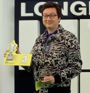浪琴表香港短途錦標 - 「綽力之城」的馬主凌基偉為其愛駒抽得第3檔。