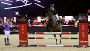 馬會與大會合辦馬術工作坊,由多位世界級騎手親自指導馬會青少年馬術隊各成員,以提升本地青少年騎手的技術水平,包括今天由瑞士騎手Jane Richard Philips(左一)舉行的工作坊。