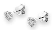 圖3、4:<br> 18K/750白色黃金鑽石耳環與925純銀情侶手鐲價值分別為港幣$7,500及港幣$1,950。