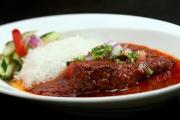 印度牛面頰秋葵咖喱配飯及印式沙律  $85