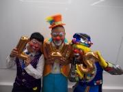 世界級小丑「La La」、「Sound Sound」及香港小丑冠軍「Wing Wing」將邀請場內小朋友一起互動演出 ,將歡笑聲傳遍會場。