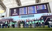 浪琴表香港瓶 - 浪琴表香港瓶排位抽籤完成後 ,主禮嘉賓與參賽馬匹的馬主、練馬師及代表合照。