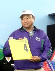 浪琴表香港短途錦標 –「蒙古週末」的練馬師伊奈拔殊為該匹美國代表抽得第4檔。