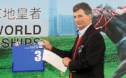 浪琴表香港一哩錦標 – 法國賽駒「重大機密」的代表為該駒抽得第3檔。
