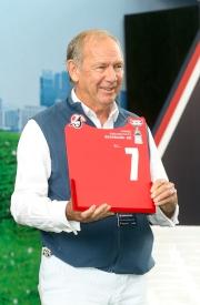 浪琴表香港盃 – 法國賽駒「佳力印記」的代表為該駒抽得第7檔。