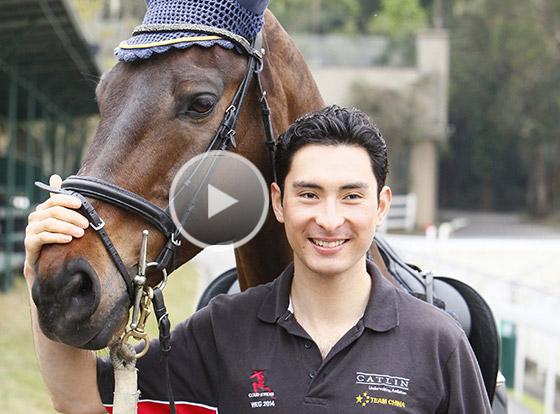 「中國騎士」華天 展現馬背上的風采