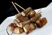 德國香腸煙肉蘋果串
