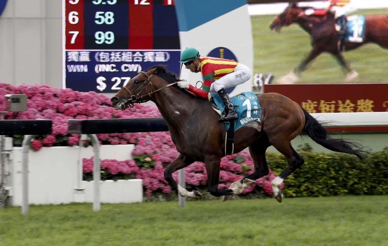 「滿樂時」勝出冠軍一哩賽