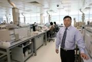 Dr. Terence Wan, the Hong Kong Jockey Club's Head of Racing Laboratory.