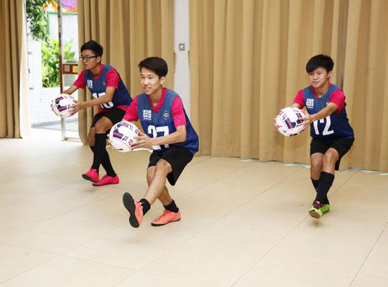 高強度循環訓練七週 足球小將體能「升呢」