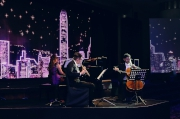 The scholars of the Hong Kong Jockey Club Music and Dance Fund, Gigi Ip, Eric Yip and Brian Chan give a fabulous trio music performance.