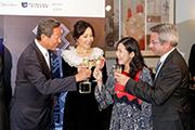「光?影?香港夜」昨晚舉行預覽酒會,慶祝光影投射活動首辦。