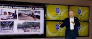 香港賽馬會行政總裁應家柏今天在沙田馬場主持一年一度的季前記者會,除了介紹香港賽馬近年的驕人成就外,亦再次闡述馬會的十年計劃,推動香港成為全球最頂尖的賽馬地區之一。