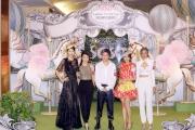 圖4, 5, 6, 7, 8<br> 著名藝人鄭希怡、李施嬅、莊思敏及湯怡於香港著名形象指導馬天佑的專業指導下,演繹著名國際帽飾設計大師Harvy Santos的作品,預演一場「Beauty Go Round」華麗時尚匯演。