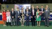 香港鄉村俱樂部挑戰盃頒獎儀式大合照。