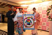 The Gallery「月貝凡」舉辦以女士為主題的活動,著名藝人JW 王灝兒(中)現身擔任嘉賓。