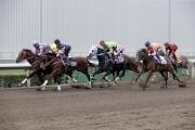 另一匹浪琴表香港一哩錦標戰馬「喜蓮獎星」(橙色綵衣)於另一組試閘以第五名完成,而香港短途錦標參賽馬「華恩庭」(粉紅/灰色綵衣)則勝出該組試閘,浪琴表香港瓶參賽馬「東方快車」(紫色綵衣)則以第二名過終點。