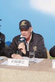 練馬師約翰摩亞講述旗下賽駒備戰浪琴表香港國際賽事的詳情。