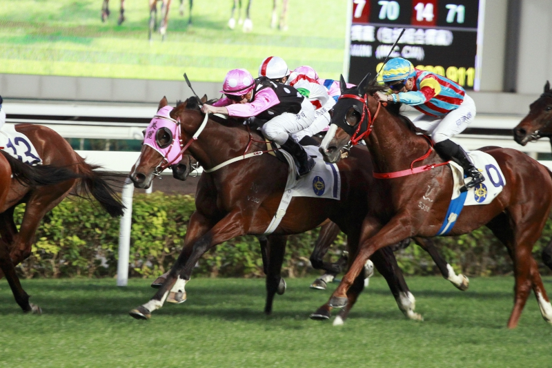 Beauty Generation runs a gallant second on his Hong Kong debut last month.