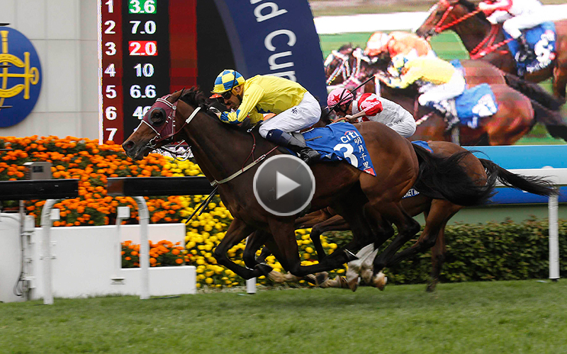 >Werther takes the Citi Hong Kong Gold Cup