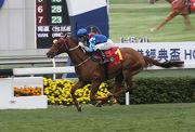 「佳龍駒」上仗以出色姿態攻下香港經典盃。