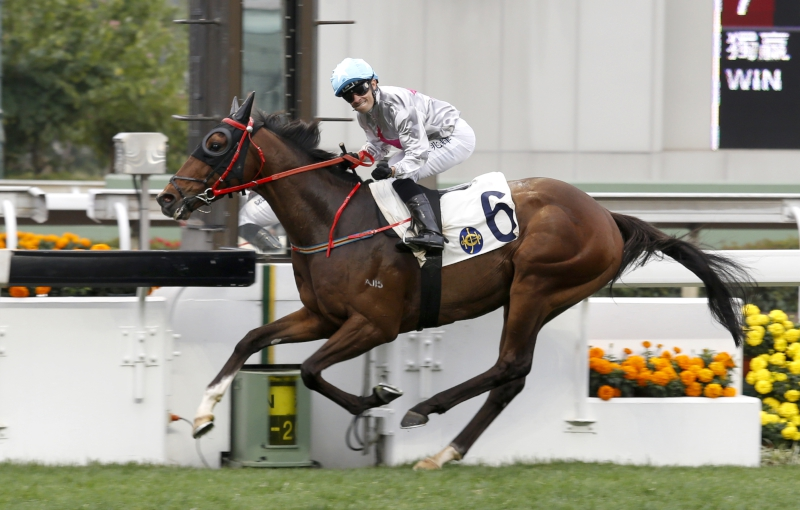 Limitless scored an impressive last-to-first win at Sha Tin in February.