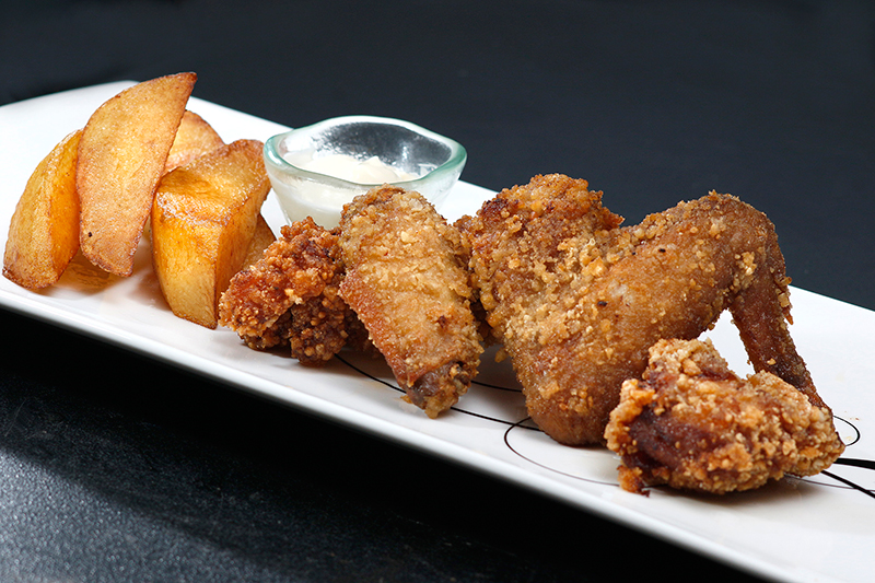 Deep Fried Chickens American, Japanese, Korean, Thai style) - $55