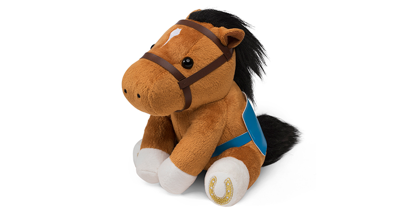 BMW Derby Sitting Horse Plush - $170