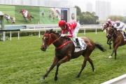 Mr Stunning coasts to victory over 1000m at Sha Tin last start.