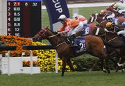 Helene Paragon completes a Group One double in the Queen��s Silver Jubilee Cup (1400m) in February.