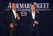 Mr. Yves Meylan, Chief Commercial Officer of Audemars Piguet (left) and Mr. David von Gunten, Chief Executive Officer Greater China of Audemars Piguet express their anticipation for the big race on Sunday.