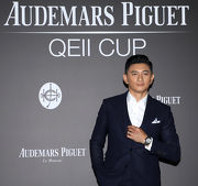 Renowned Taiwanese actor, Mr. Nicky Wu, makes a special appearance at the party.
