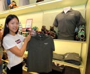 Brand new APQEII Cup apparel items are on sale at Sha Tin Racecourse��s souvenir shops.