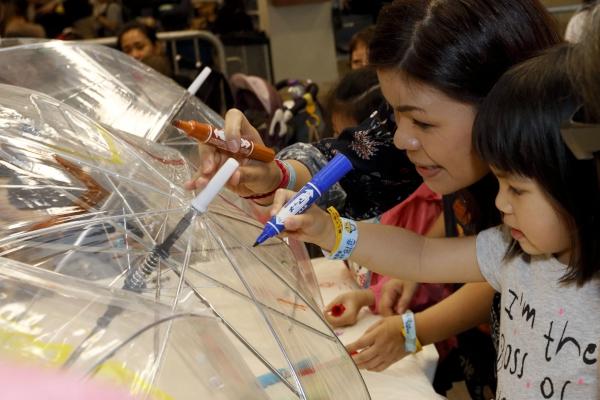 第五區:同做DIY,小朋友可製作藝術、復活節和運動為主題的手工藝品,表現無限創意。
