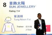 騎師田泰安為「首飾太陽」抽得第11檔。