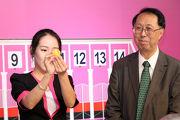Owner Felix Cheung Fuk Yuen draws Gate 5 for his Macau runner Golden Double.